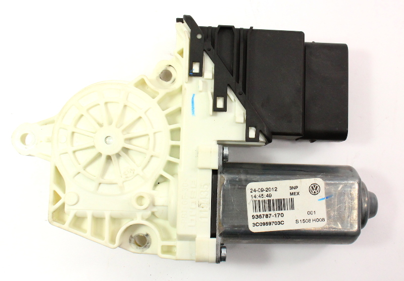 LH Rear Window Motor 11-18 VW Jetta MK6 - Genuine - 3C0 959 703 C