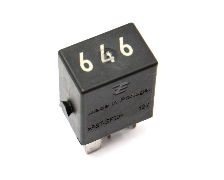 646 Fuel Pump Relay Passat Jetta Golf GTI Beetle A3 A4 A6 Q5 - 4H0 951 253 C