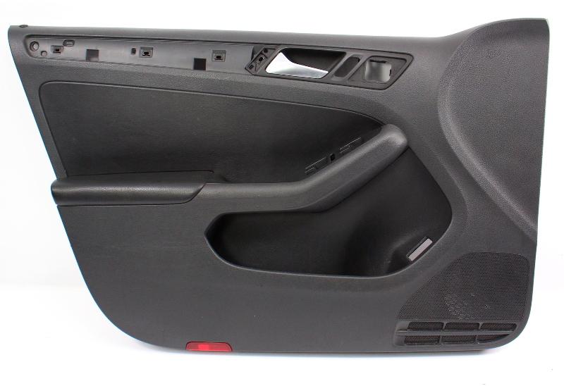 Driver Front Door Panel 11 18 Vw Jetta Mk6 Sedan Genuine