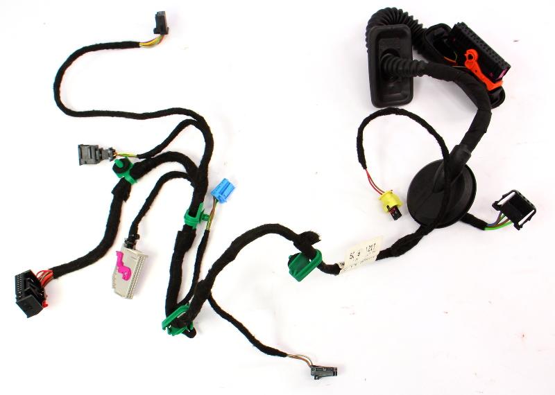 rh front door wiring harness 11-18 vw jetta mk6 - genuine - 5c7 971 121 t |  carparts4sale, inc