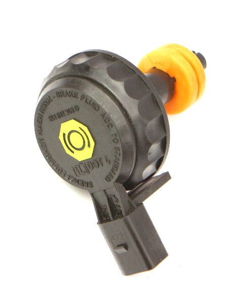 Brake Master Cylinder Cap w/ Sensor VW Jetta Eos Beetle Passat - 1K1 611 349 D