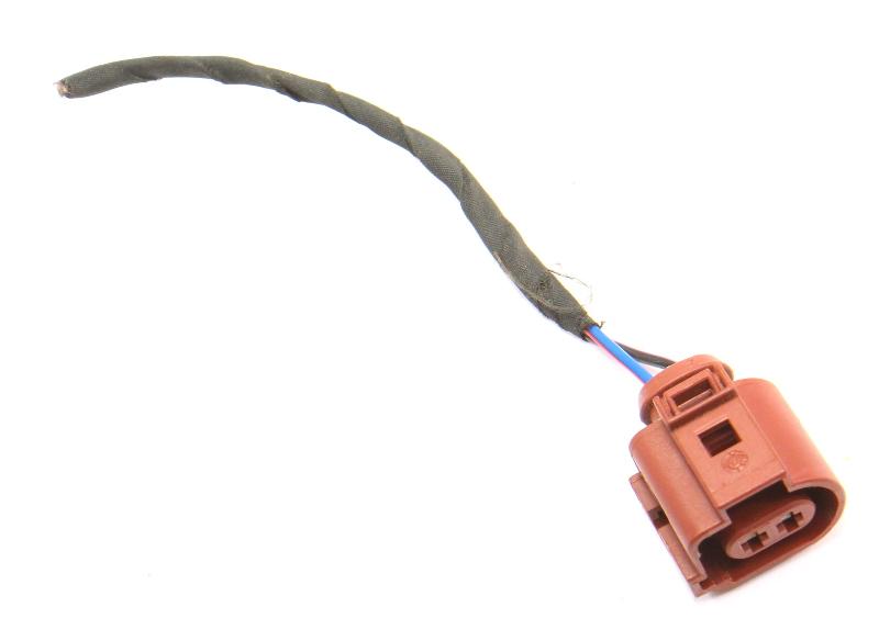 2 Pin Pigtail Wiring Harness Plug VW Audi Jetta Golf GTI MK6 Eos - 3B0 973 722 A