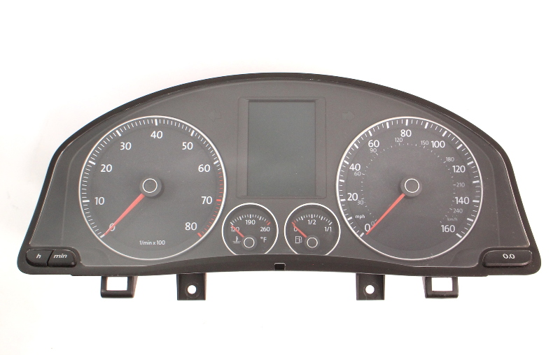 Gauge Cluster 08-09 VW Rabbit MK5 2.5 Speedometer - 1K0 920 974 J