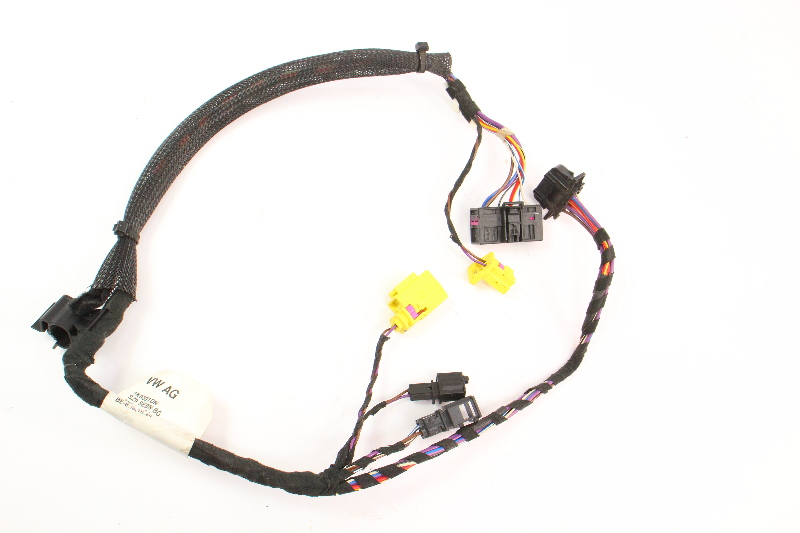 LH Front Seat Wiring Harness 06-09 VW Rabbit GTI MK5 Side Air Bag 1K0 971 391 DN