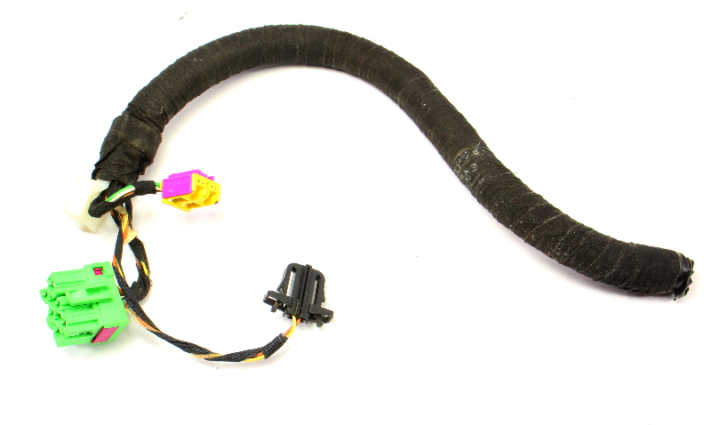 LH Front Heated Seat Wiring Plugs Pigtail VW Jetta Golf GTI MK4 Harness