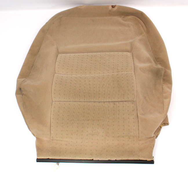 RH Heated Seat Back Rest Cover VW Jetta Golf MK4 Passat Beige Cloth 1J0 963 557