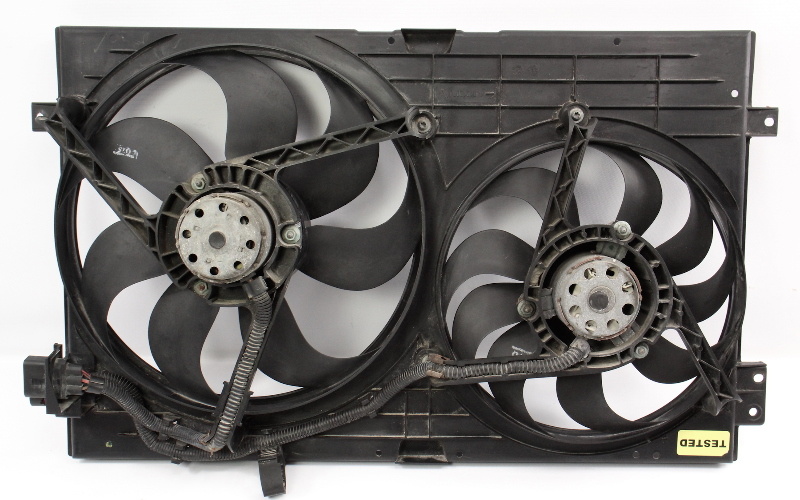 Engine Electric Cooling Fans Shroud 99-05 VW Jetta Golf GTI MK4 Audi TT Genuine