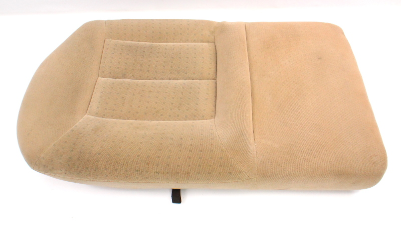 RH Rear Back Seat Lower Cushion & Cover Beige 99-01 VW Jetta Golf MK4 ~ Genuine