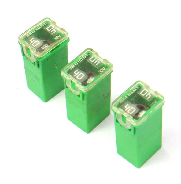 3x Green 40a Littlefuse 11 18 Vw Jetta Sedan Mk6 495 32v