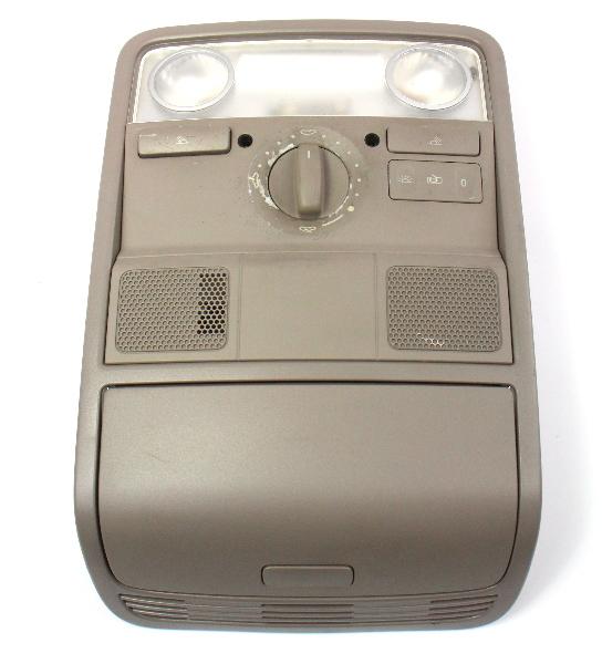 Dome Map Light Sunroof Switch 06-10 VW Passat B6 Latte Macchiato - 3C0 867 489 B