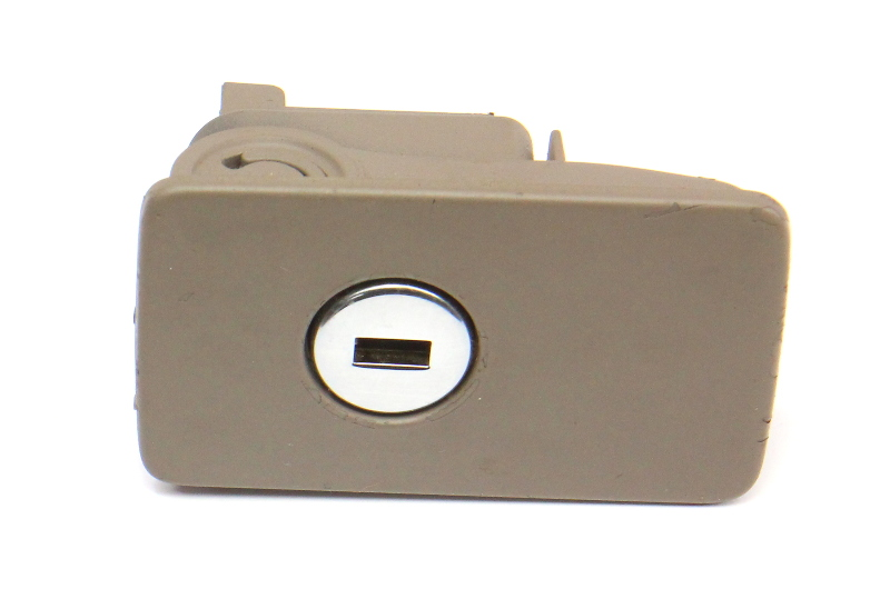 Glovebox Glove Box Handle Latch 06-10 VW Passat B6 Latte - Genuine - 3C1 857 147