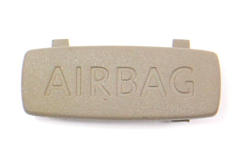 Pillar Airbag Trim Cap VW Passat B6 - Latte Macchiato - 3C0 853 437 C