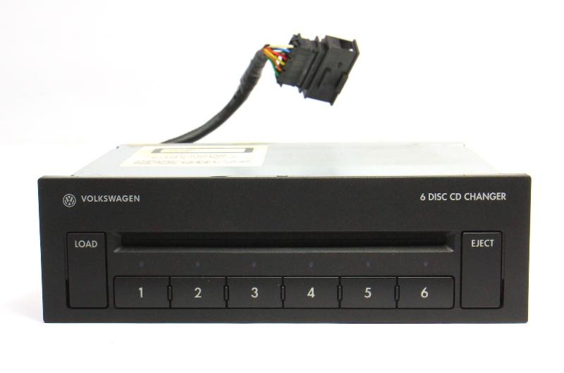 6 Disc CD Changer 06-10 VW Passat B6 - Genuine - 3C0 035 110