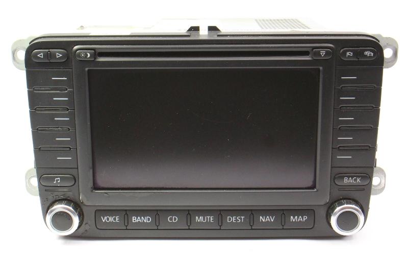 Navigation Head Unit 06-10 VW Passat B6 - Genuine - 1K0 035 197 C