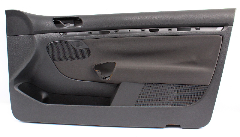RH Front Interior Door Panel 06-09 VW Rabbit Golf GTI MK5 2 Door 1K3 867 012 DG
