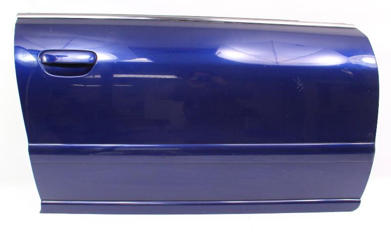 RH Front Door Shell Skin 99-02 Audi A4 S4 B5 -  LZ5K Santorin Blue