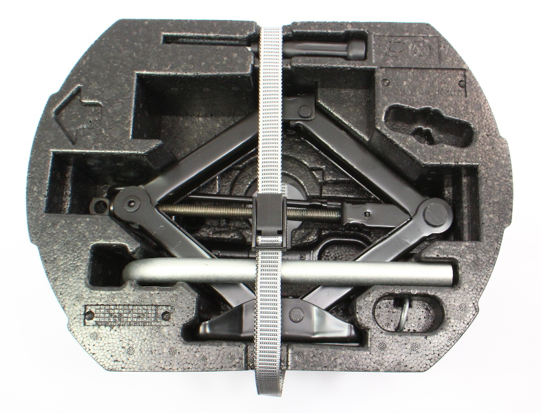 Trunk Tool Kit 11-18 VW Jetta MK6 Jack Lug Wrench Tow Hook - Genuine