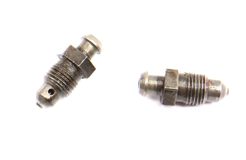 Rear Brake Caliper Bleeder Nipple Screws 06-07 VW Passat B6 - Genuine