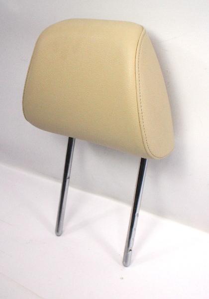 Front Seat Head Rest 15-18 VW Jetta MK6 Sedan - Beige Perforated Leatherette