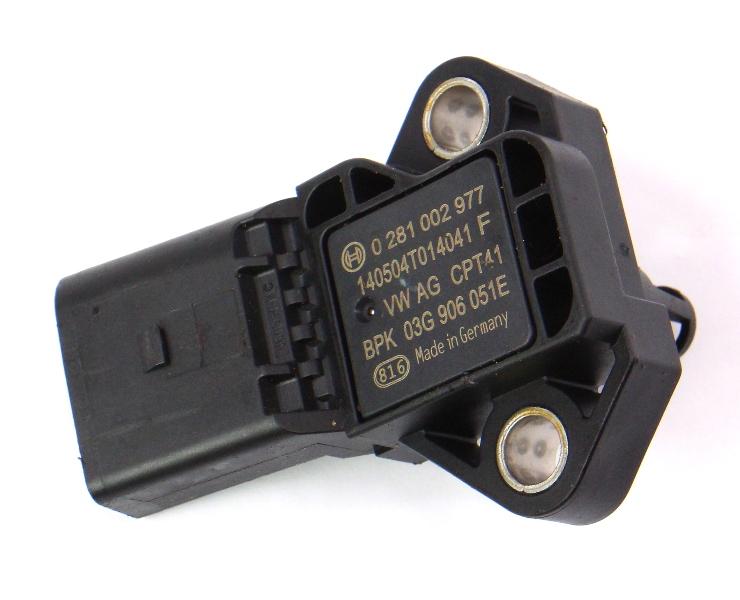 Map Sensor VW Jetta MK6 Audi A3 A4 A6 Passat Tiguan - Genuine - 03G 906 051 E