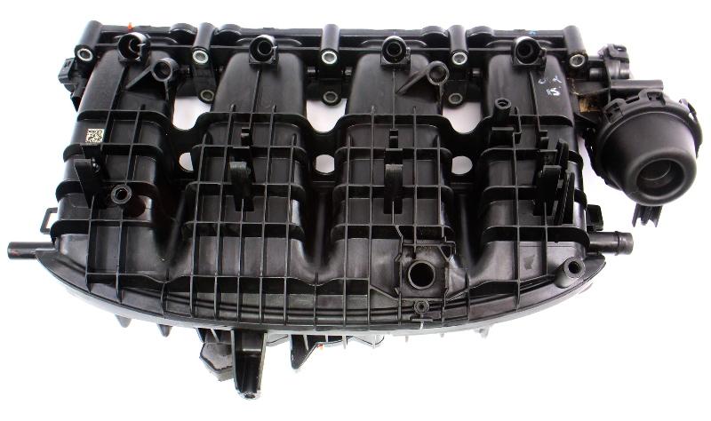 Intake Manifold 13-16 VW Jetta MK6 Beetle Passat 2.0T 1.8T - 06L 133 201 AS