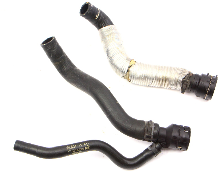 Heater Core Coolant Hoses 15-18 VW Jetta MK6 Sedan 1.8T - 5C0 122 157 G