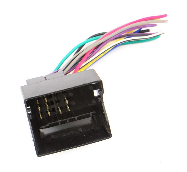 Radio Plug Pigtail Converter Adaptor Fits VW 02-05 VW