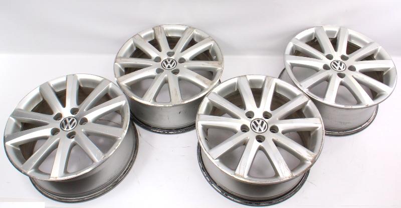 """Set of Wheels Rims Alloy BBS 17"""" 5x112 Audi VW Passat B6 Stock - 3C0 601 025 J"""