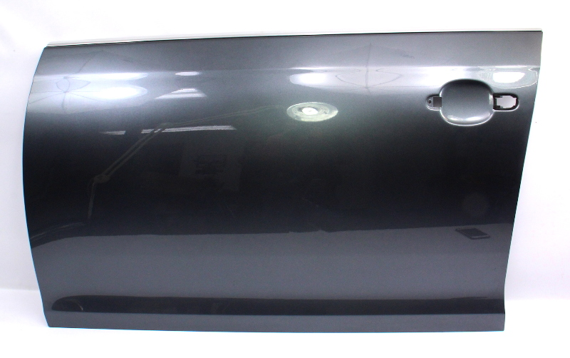 LH Driver Front Door Shell Skin 05-10 VW Jetta MK5 LD7X Platinum Grey- Genuine