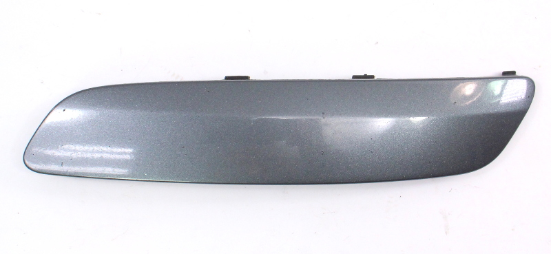 LH Bumper Trim Filler Moulding 05-10 VW Jetta Rabbit MK5 LD7X Grey 1K0 807 717 B