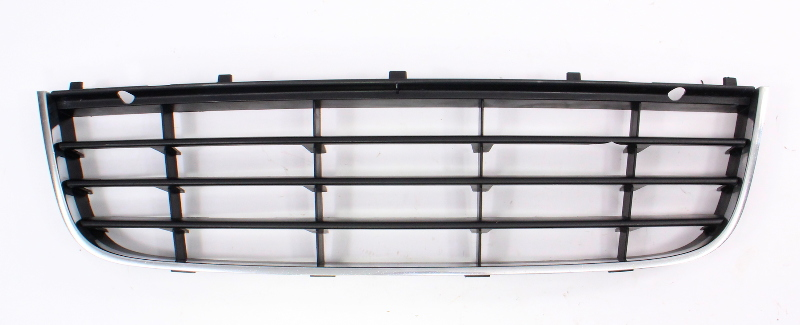 Center Lower Bumper Grill Grille 05-10 VW Jetta MK5 - Genuine - 1K0 853 677 C