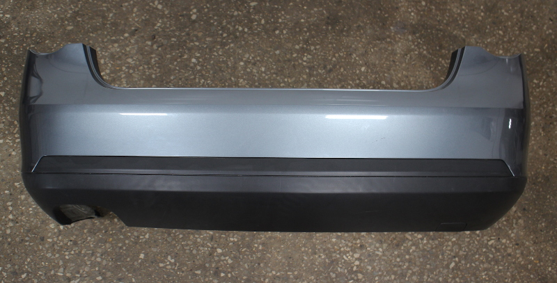 Rear Bumper Cover 05-10 VW Jetta MK5 Sedan - LD7X Platinum Grey - Genuine