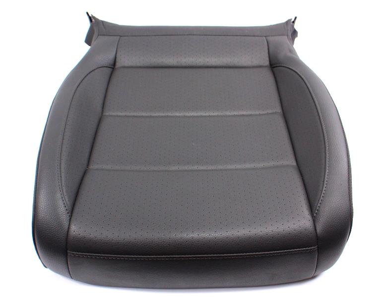 RH Front Seat Cushion Dark Gray Leatherette 05-10 VW Jetta Rabbit Mk5 Genuine