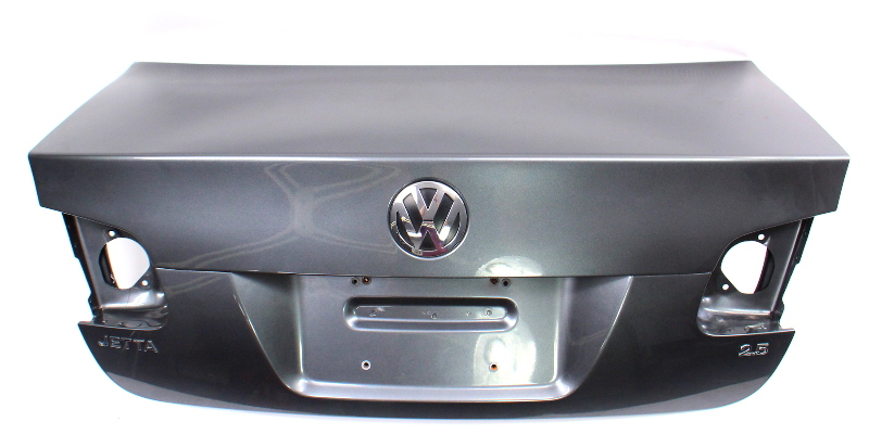 Trunk Deck Lid Boot 05-10 VW Jetta MK5 Sedan LD7X Platinum Grey - Genuine