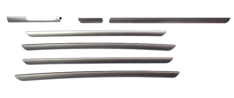 Dash & Door Interior Trim Set VW 05-10 Jetta GTI Rabbit Mk5 4 Door - 1K1 858 529
