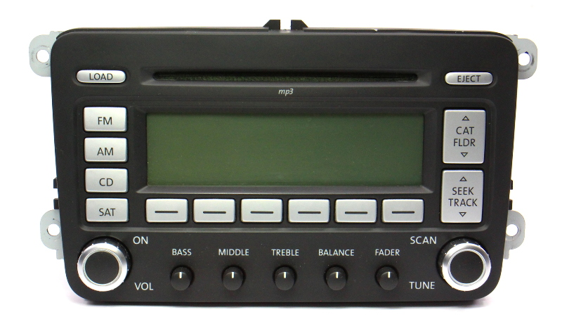Premium 7 Radio CD Player 06-10 VW Jetta Rabbit GTI MK5 Passat B6 1K0 035 180 L