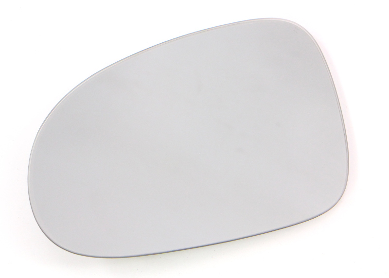 LH Exterior Side View Mirror Glass 05-10 VW Jetta MK5 Heated - Genuine
