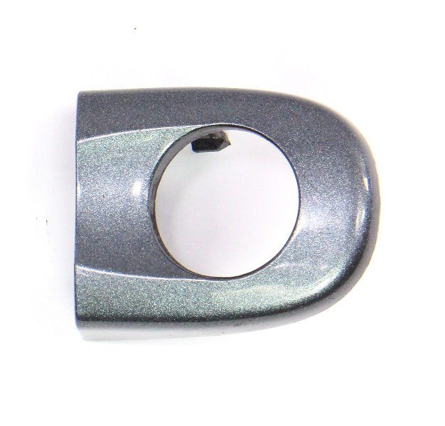 Driver Door Handle Thumb Trim Cap 05-10 VW Jetta MK5 - LD7X Grey - 1K5 837 879