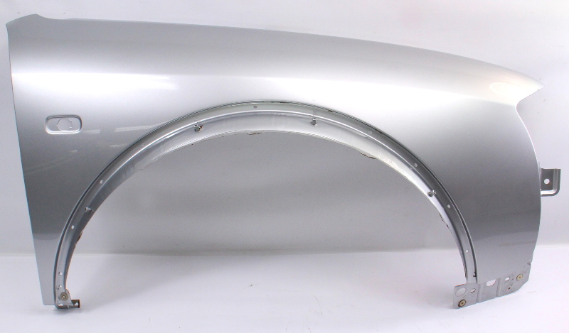 Rh Front Fender 2001 Audi Allroad Ly7w Light Silver Metallic Genuine 4z7 821 104