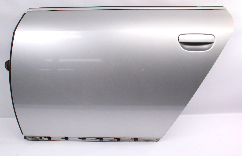 LH Rear Door Shell 01-05 Audi Allroad LY7W Light Silver Metallic - Genuine