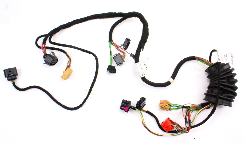 LH Driver Front Door Panel Wiring Harness 98-01 Audi A6 Allroad ~ 4B0 971 035 AJ