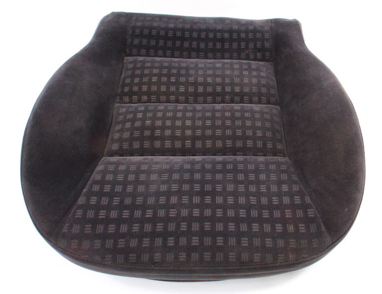 Front Seat Cushion Foam & Cover VW 01-05 Passat B5.5 Charcoal Cloth ~ Genuine