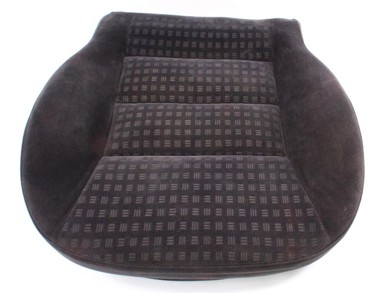 Front Seat Cushion Foam & Cover VW 01-05 Passat B5.5 Charcoal Cloth ~ Genuine