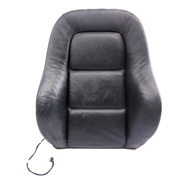 RH Front Seat Backrest Cover & Foam 00-06 Audi TT MK1 Dark Gray Leather Genuine