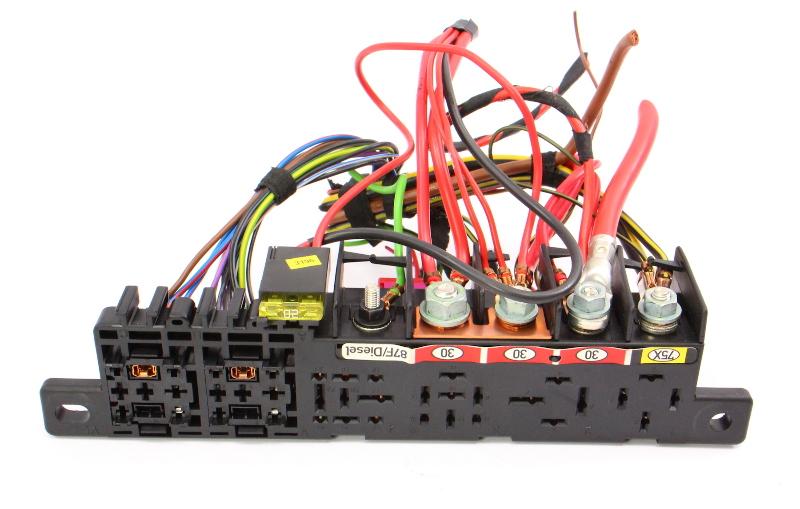 Under Dash Relay Panel Board 98 05 VW Passat Audi A4 Pigtails 8L0 941 822 A