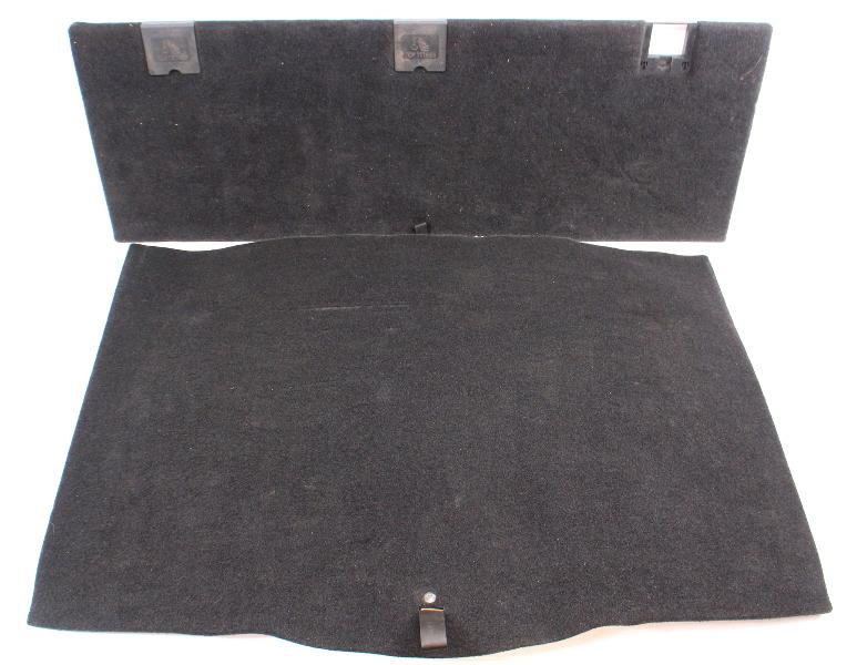 Trunk Floor Carpet Mat Cover 09-14 Jetta Sportwagen - 1K9 868 845 D / 863 433