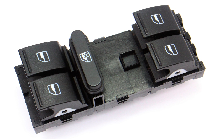 Driver Front Master Window Switch 05-14 VW Jetta Golf MK5 MK6 . 1K4 959 857 B .