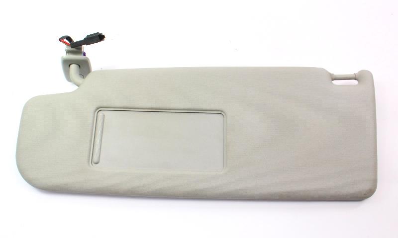 LH Sunvisor Sun Visor 05-14 VW Jetta Rabbit GTI Mk5 MK6 ~ Grey ~ 1K0 857 551 AF