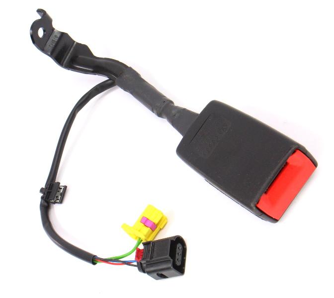 RH Front Seat Belt Receiver 06-14 VW Jetta GTI MK5 MK6 - 1K3 857 756 BL