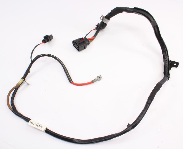 Power Steering Motor Wiring Harness Plugs VW Jetta GTI MK5 MK6 - 1K1 971 111 AG